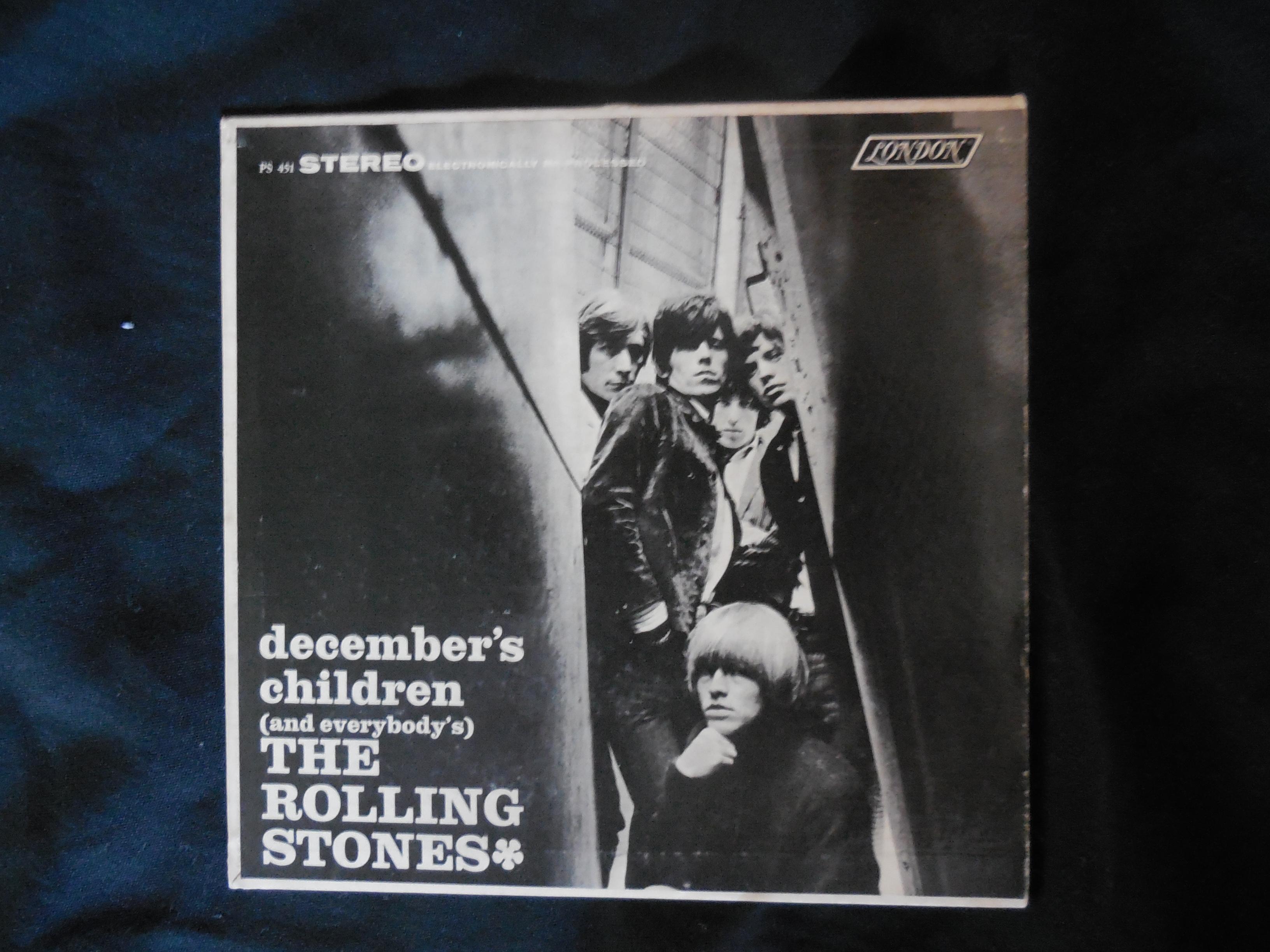 Rolling Stones Decembers Children Juke Box Ep Very