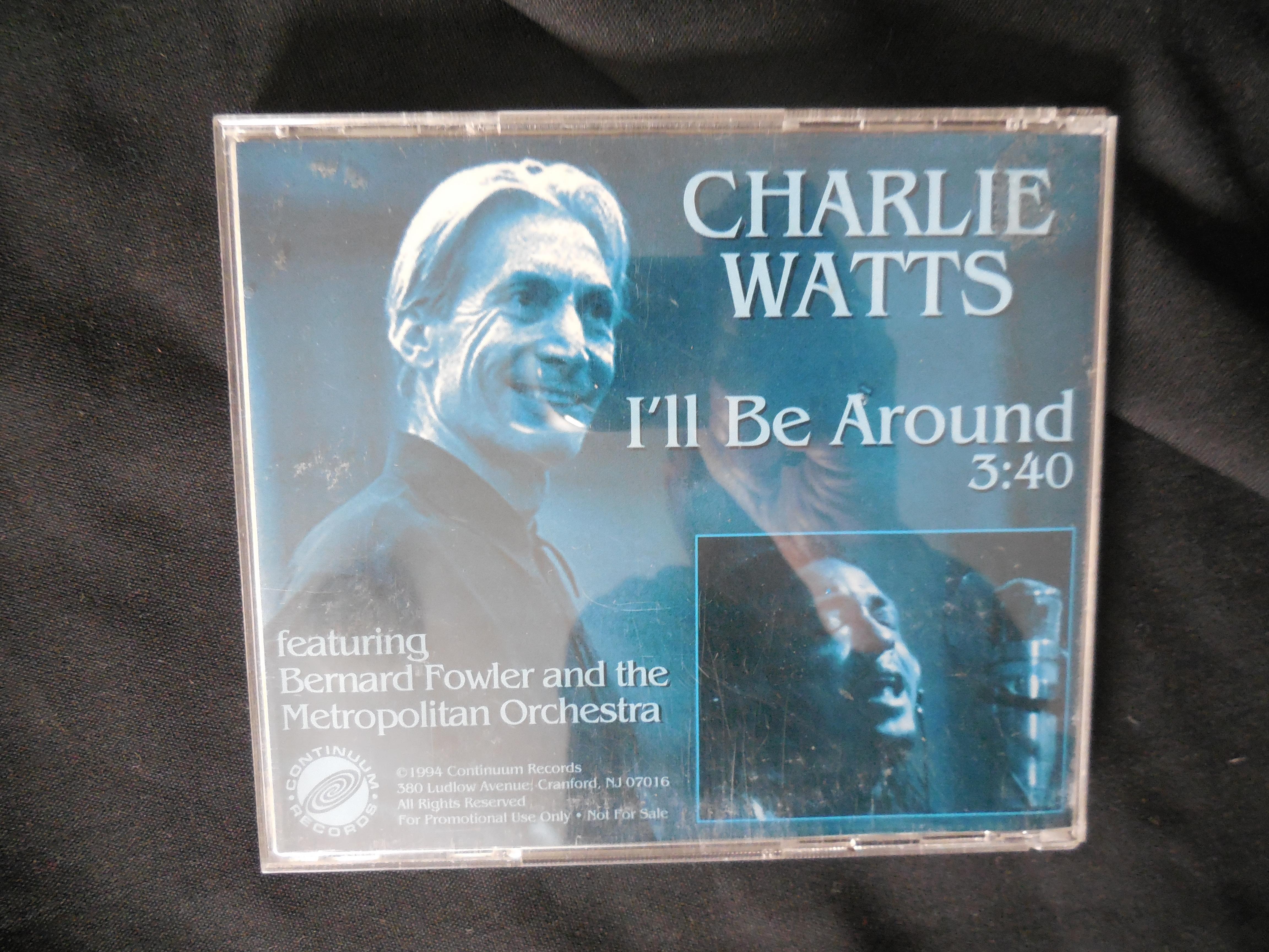 Charlie Watts (Rolling Stones) Cd I