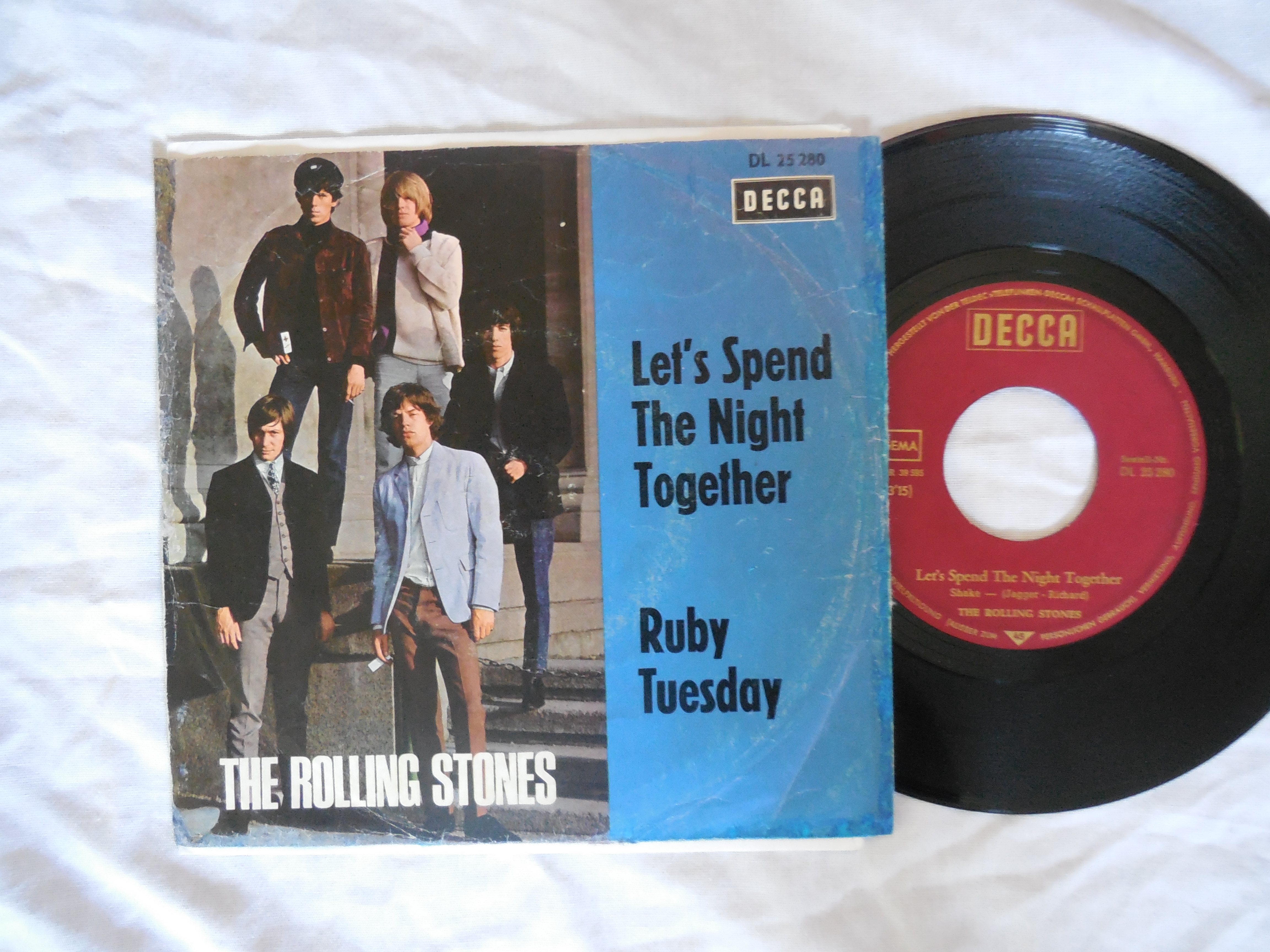 Rolling Stones-Let's Spend The Night Together+p/s German
